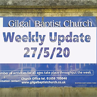Midweek Message 27th May 2020